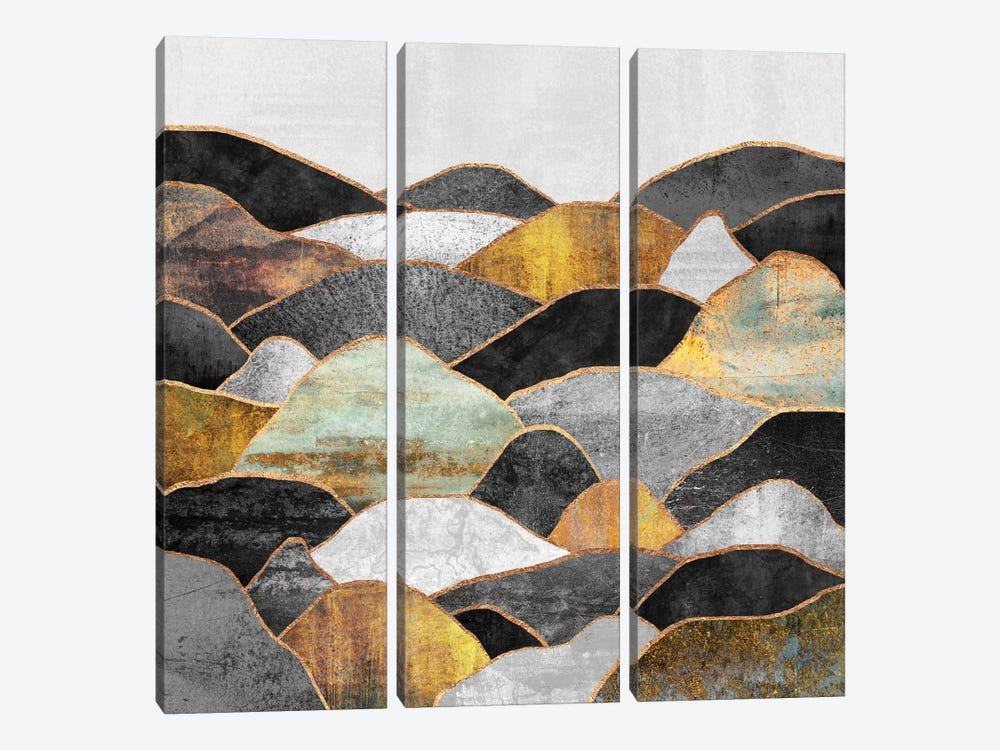 Hills by Elisabeth Fredriksson 3-piece Canvas Art