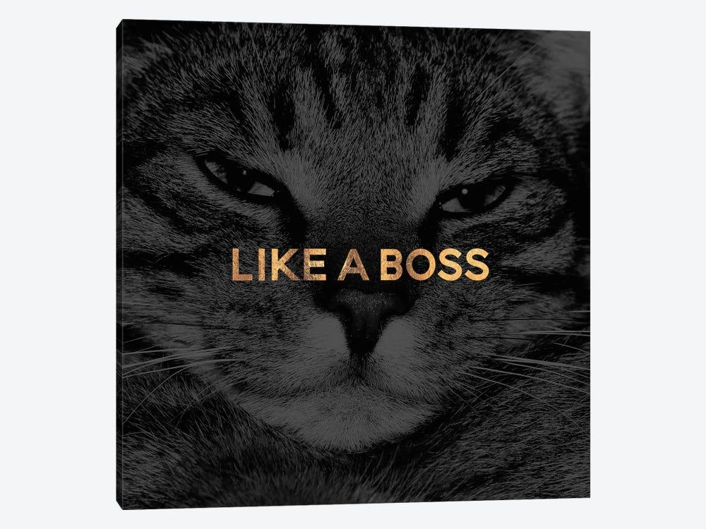 Like A Boss by Elisabeth Fredriksson 1-piece Canvas Wall Art