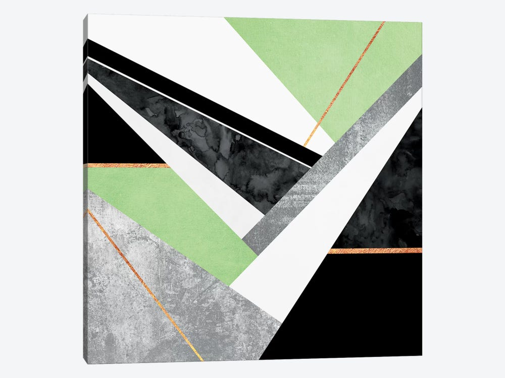 Lines And Layers II by Elisabeth Fredriksson 1-piece Canvas Art Print
