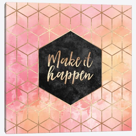 Make It Happen Canvas Print #ELF154} by Elisabeth Fredriksson Canvas Wall Art