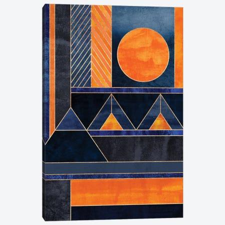 Midnight Sun Canvas Print #ELF155} by Elisabeth Fredriksson Canvas Art