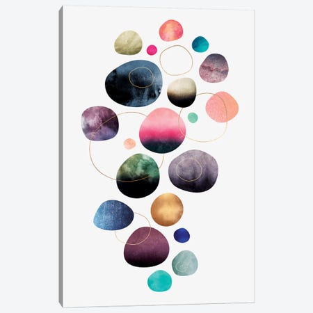 My Favorite Pebbles Canvas Print #ELF156} by Elisabeth Fredriksson Canvas Wall Art