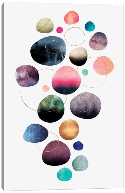 My Favorite Pebbles Canvas Art Print