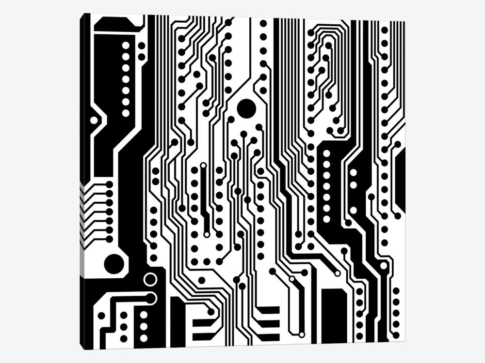 PCB I 1-piece Canvas Print