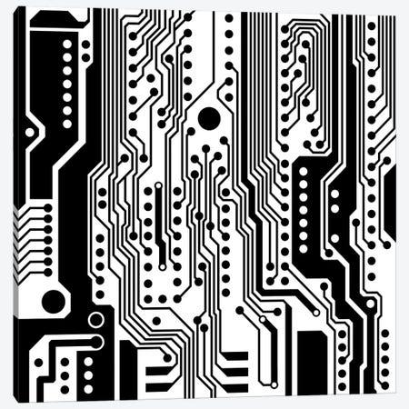 PCB I Canvas Print #ELF158} by Elisabeth Fredriksson Art Print