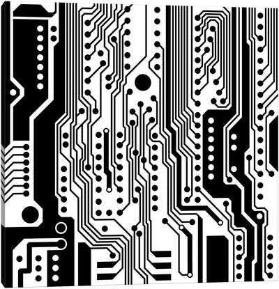 PCB I Canvas Art Print