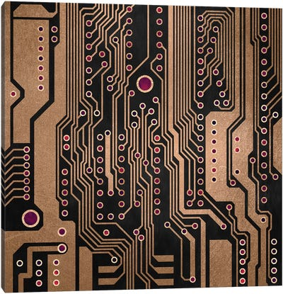 PCB III Canvas Art Print