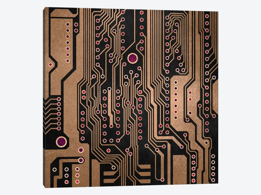 PCB III by Elisabeth Fredriksson 1-piece Canvas Artwork