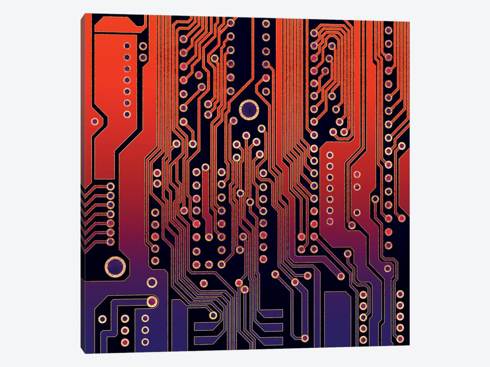 PCB IV by Elisabeth Fredriksson 1-piece Canvas Art Print