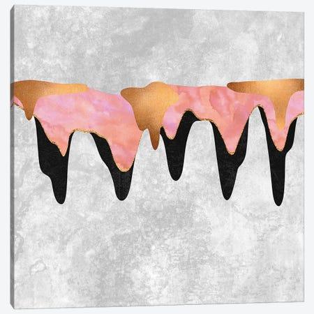 Pretty Color Drip I Canvas Print #ELF167} by Elisabeth Fredriksson Canvas Art Print