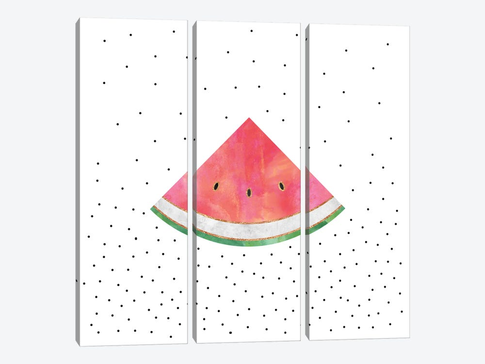 Pretty Watermelon by Elisabeth Fredriksson 3-piece Art Print