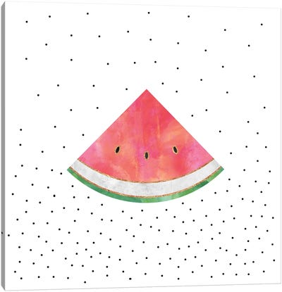 Pretty Watermelon Canvas Art Print