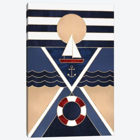Sailboat Canvas Print #ELF171} by Elisabeth Fredriksson Canvas Print