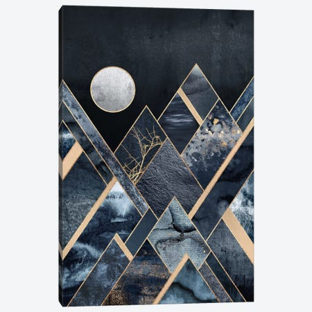 Stormy Mountains 3-Piece Canvas #ELF175} by Elisabeth Fredriksson Canvas Wall Art