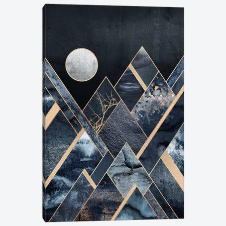 Stormy Mountains Canvas Print #ELF175} by Elisabeth Fredriksson Canvas Wall Art