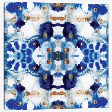 Symmetric Blue Canvas Print #ELF177} by Elisabeth Fredriksson Canvas Art