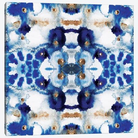 Symmetric Blue Canvas Print #ELF177} by Elisabeth Fredriksson Canvas Art