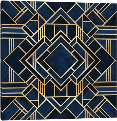 Art Deco III Canvas Art Print
