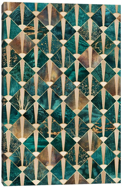 Art Deco Tiles I Canvas Art Print