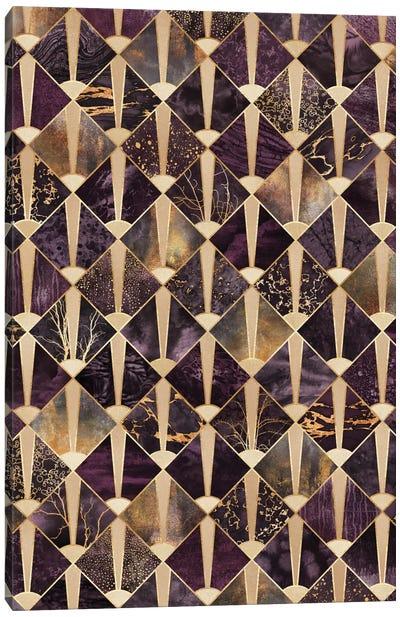 Art Deco Tiles II Canvas Print #ELF186