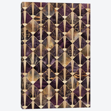 Art Deco Tiles II Canvas Print #ELF186} by Elisabeth Fredriksson Art Print