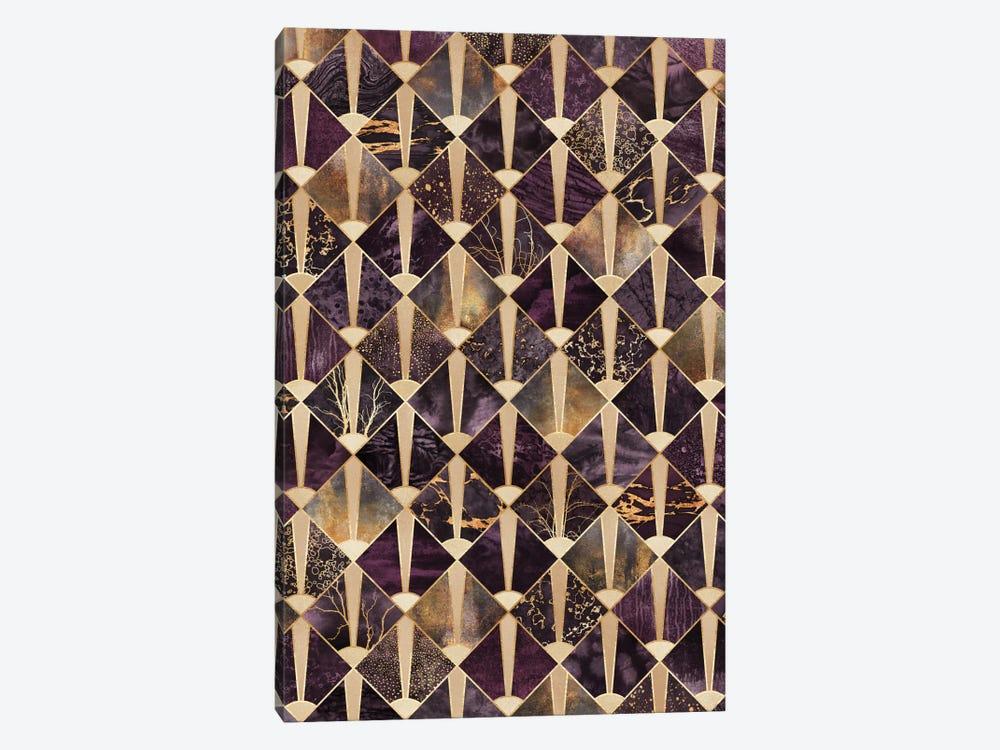 Art Deco Tiles II by Elisabeth Fredriksson 1-piece Canvas Art