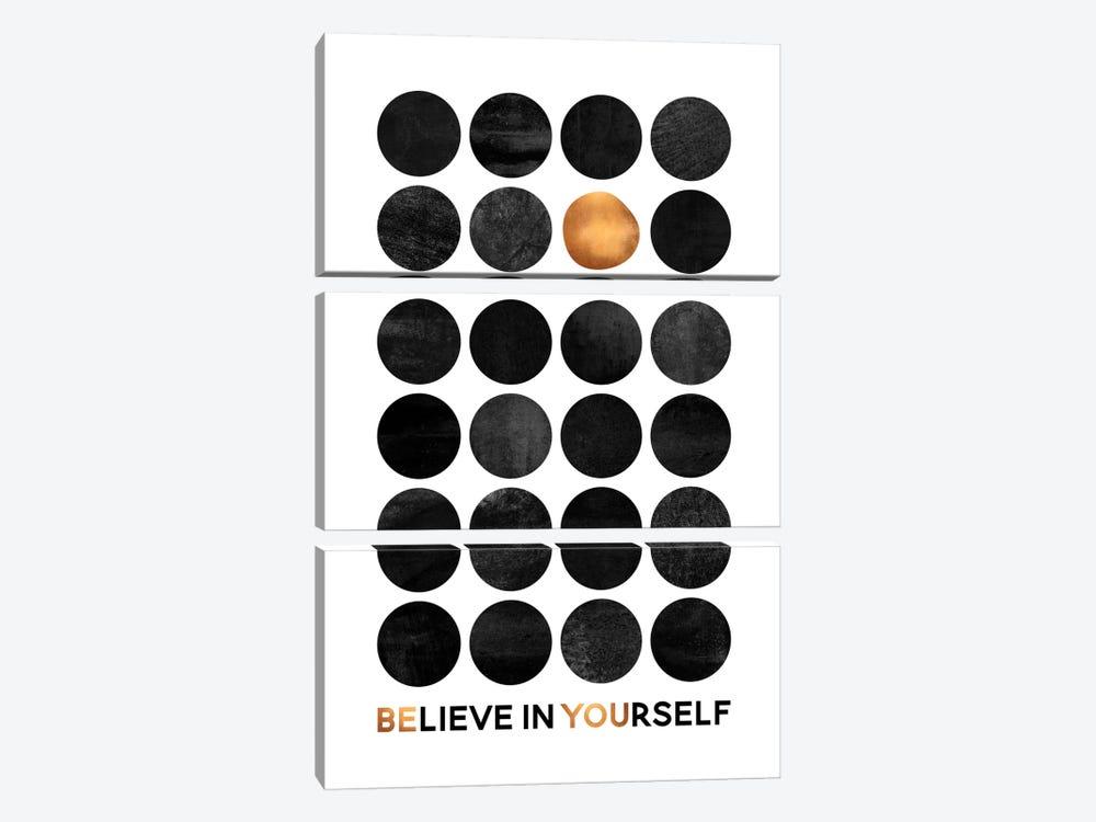 Be You II by Elisabeth Fredriksson 3-piece Canvas Art Print