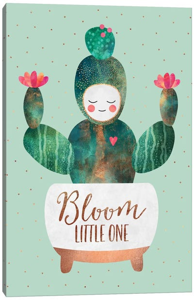 Bloom Little One Canvas Art Print