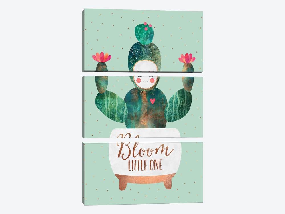Bloom Little One by Elisabeth Fredriksson 3-piece Canvas Print