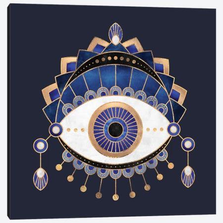 Blue Eye Canvas Print #ELF190} by Elisabeth Fredriksson Canvas Art Print