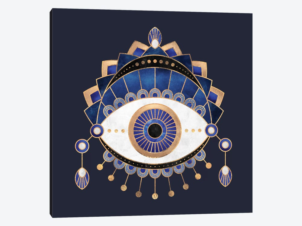 Blue Eye by Elisabeth Fredriksson 1-piece Canvas Print