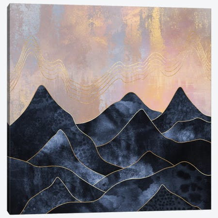 Mountainscape Canvas Print #ELF199} by Elisabeth Fredriksson Art Print