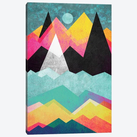Candyland Canvas Print #ELF19} by Elisabeth Fredriksson Canvas Art