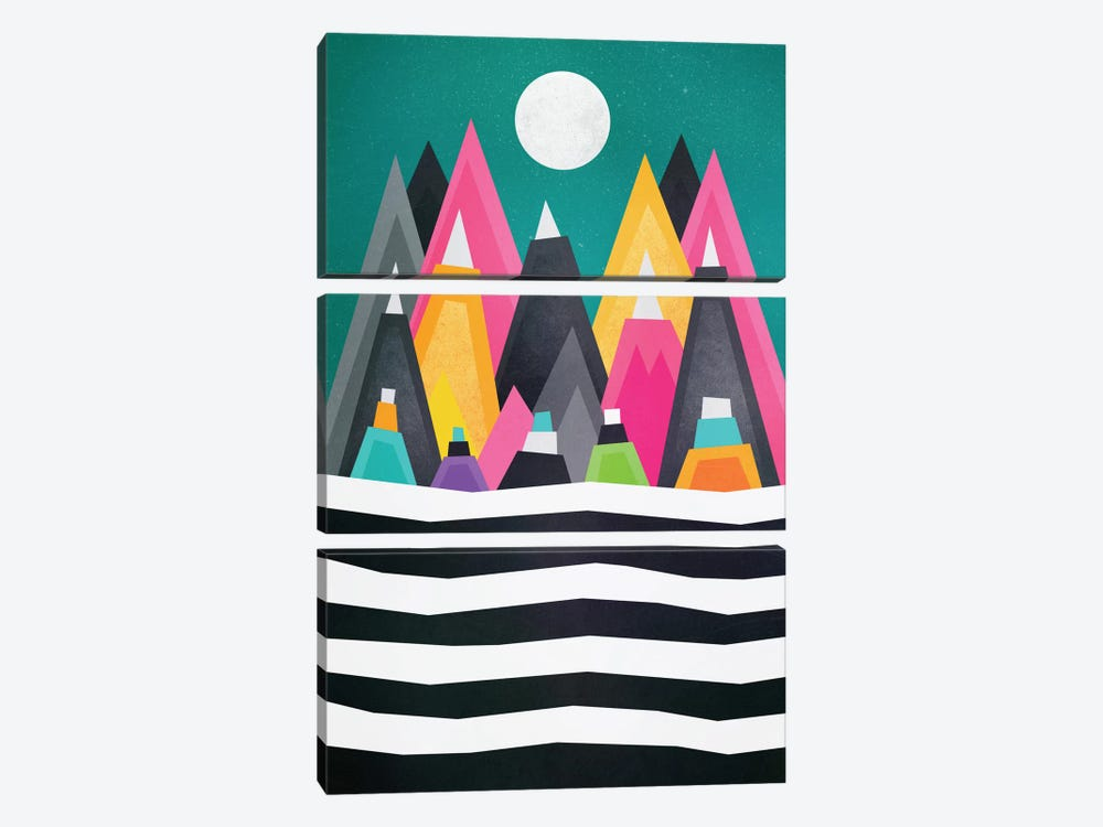 A Fun Place by Elisabeth Fredriksson 3-piece Canvas Artwork