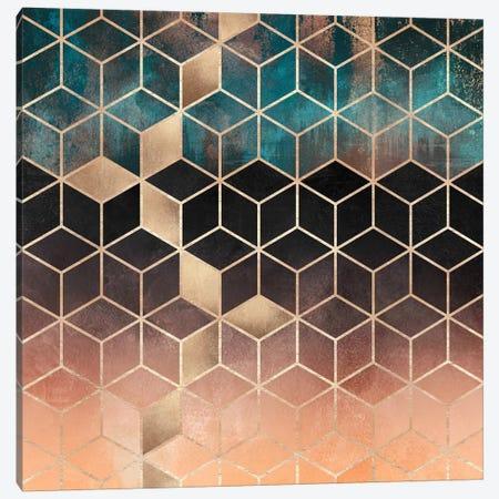 Ombre Dream Cubes Canvas Print #ELF200} by Elisabeth Fredriksson Canvas Print