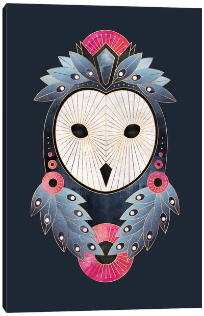 Owl I Canvas Art Print