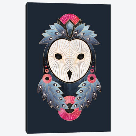 Owl I Canvas Print #ELF201} by Elisabeth Fredriksson Canvas Print