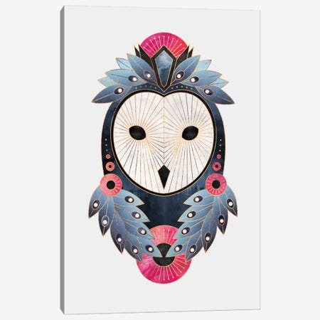 Owl II Canvas Print #ELF202} by Elisabeth Fredriksson Canvas Print