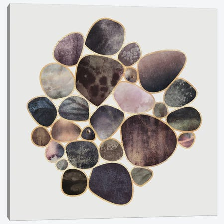 Rock Collection Canvas Print #ELF205} by Elisabeth Fredriksson Canvas Wall Art