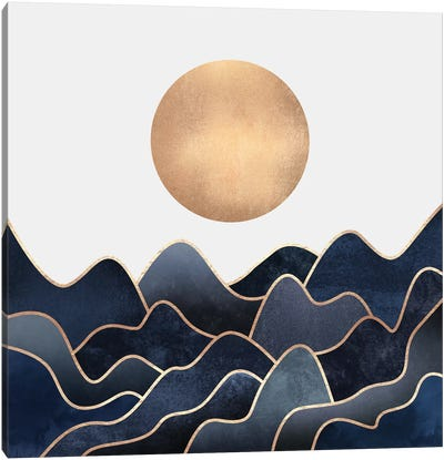 Waves Canvas Art Print