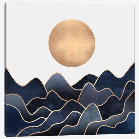 Waves Canvas Print #ELF213} by Elisabeth Fredriksson Canvas Artwork