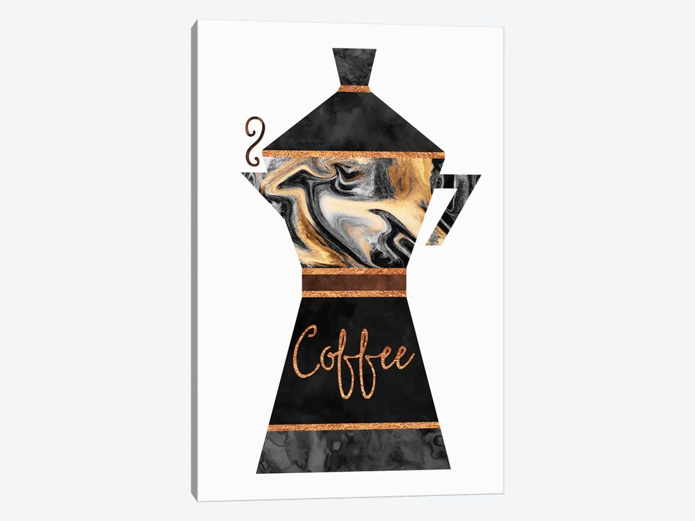 Coffee by Elisabeth Fredriksson 1-piece Canvas Wall Art