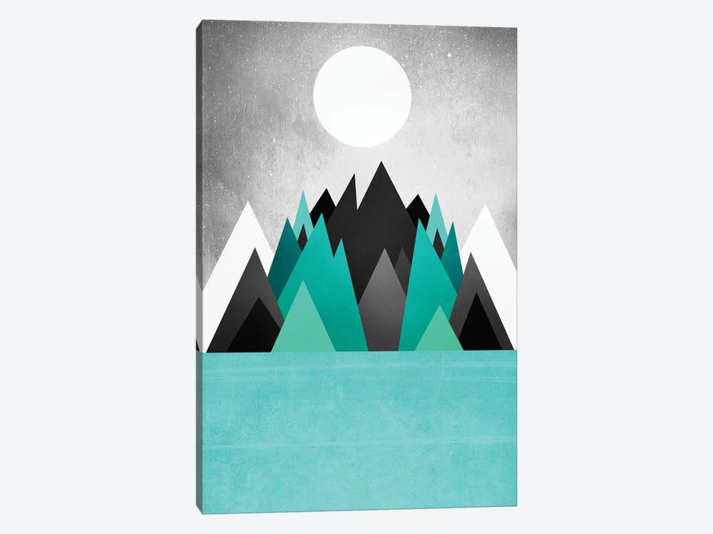 Cold Planet by Elisabeth Fredriksson 1-piece Canvas Artwork