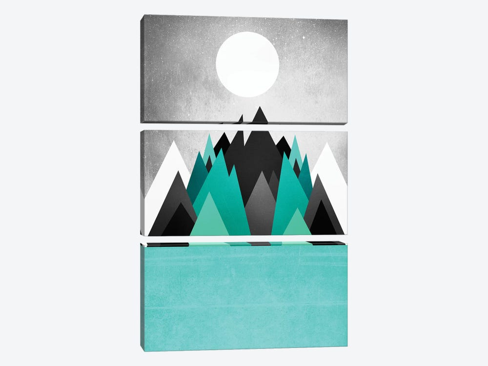 Cold Planet by Elisabeth Fredriksson 3-piece Canvas Artwork