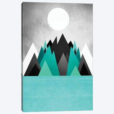 Cold Planet Canvas Print #ELF231} by Elisabeth Fredriksson Canvas Artwork