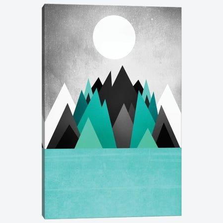 Cold Planet Canvas Print #ELF231} by Elisabeth Fredriksson Canvas Artwork