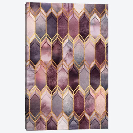 Dreamy Stained Glass Canvas Print #ELF233} by Elisabeth Fredriksson Canvas Artwork