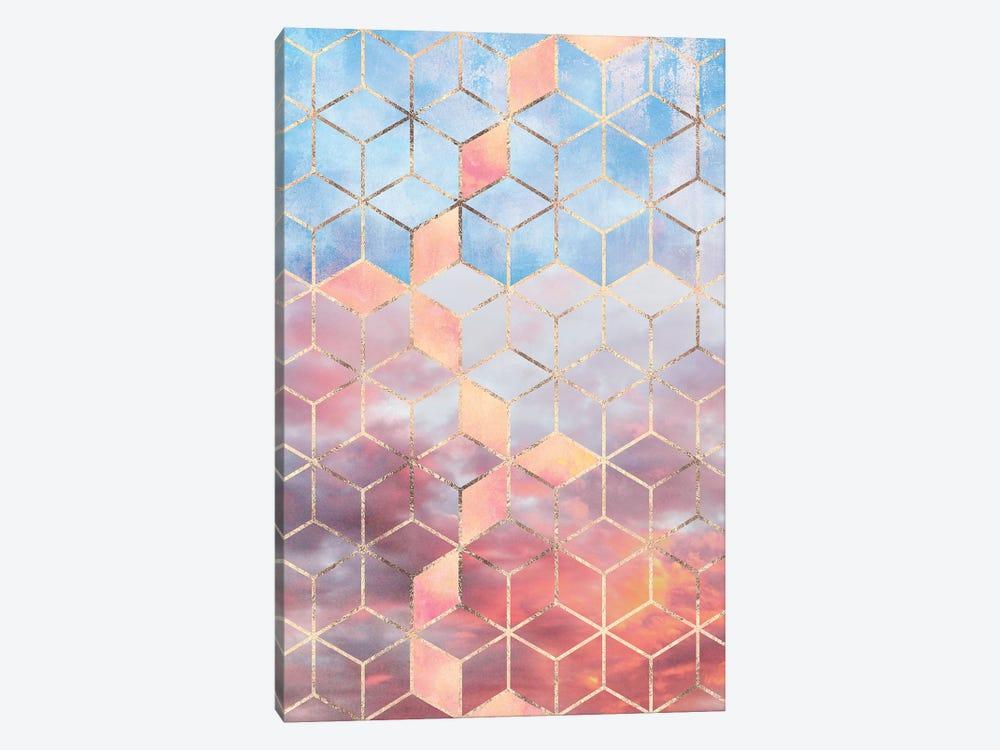 Magic Sky Cubes by Elisabeth Fredriksson 1-piece Canvas Art