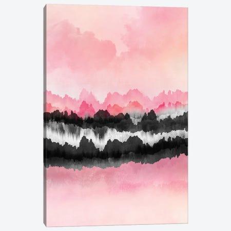 Pink Mountains Canvas Print #ELF245} by Elisabeth Fredriksson Canvas Art