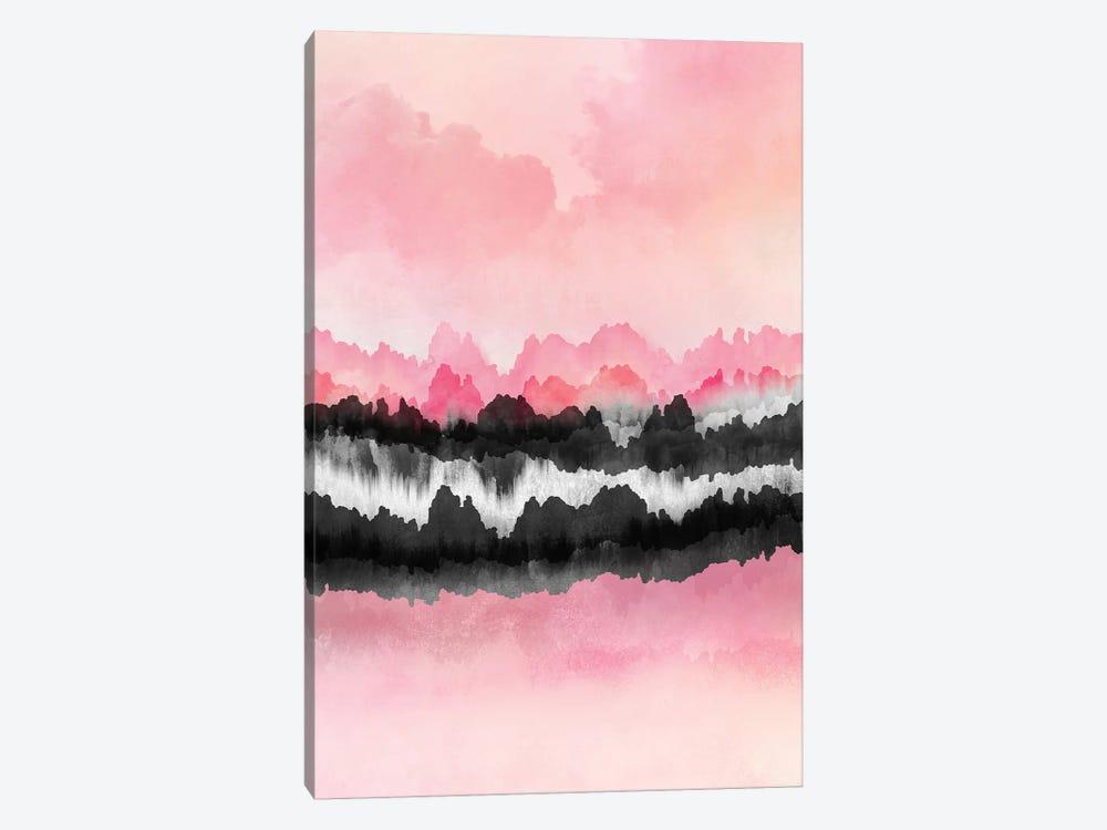 Pink Mountains by Elisabeth Fredriksson 1-piece Art Print
